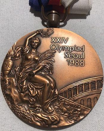 Medalla Olímpica Seoul 1988