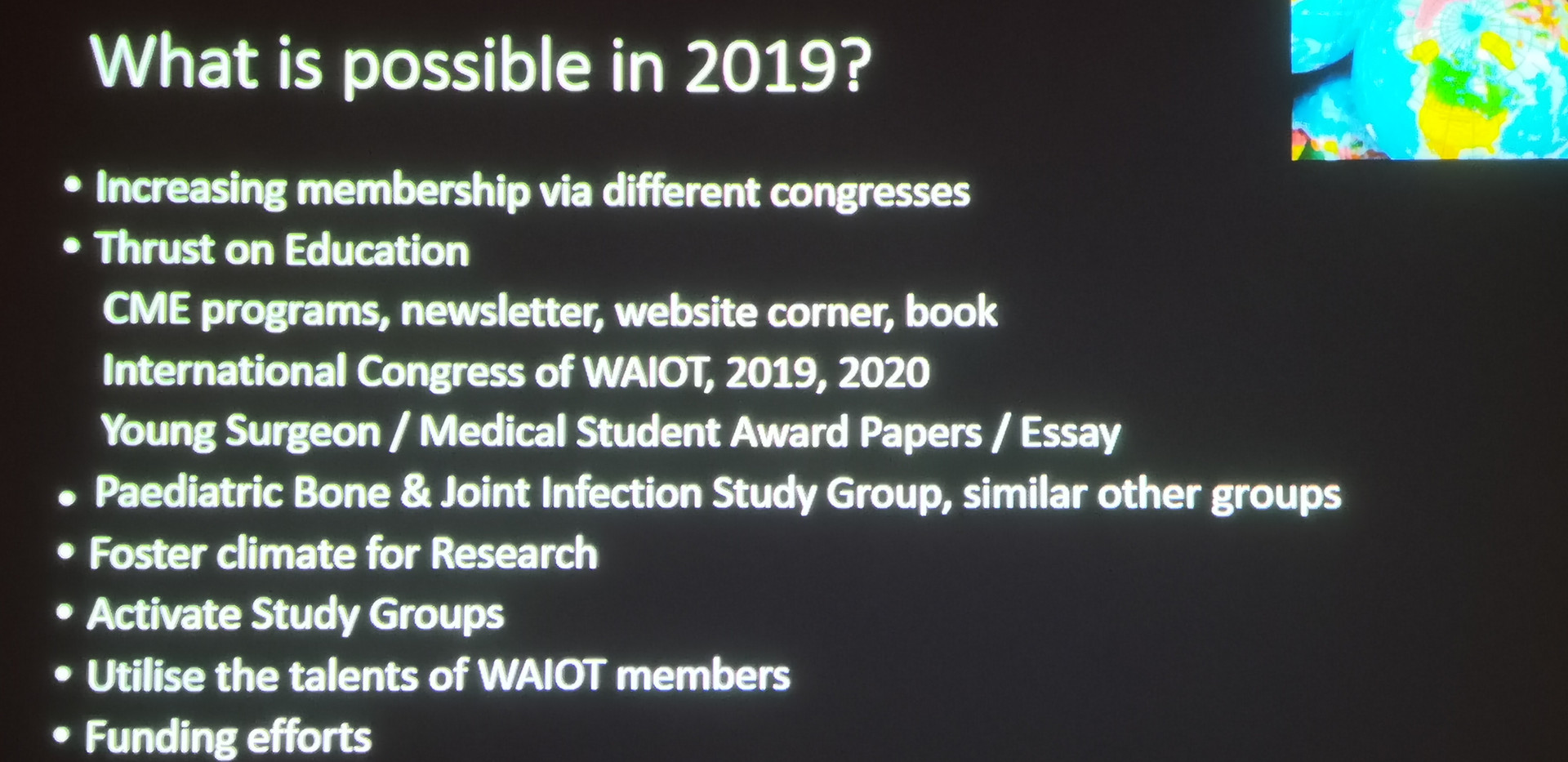 Prof. Johari's vision for WAIOT