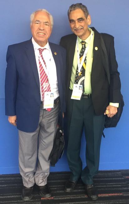 Prof. Benzakour and Prof. Joari