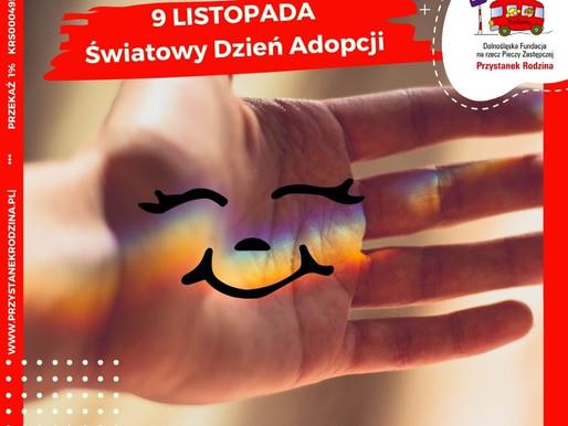 9 listopada - Światowy Dzień Adopcji