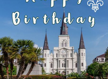 Happy Birthday, NOLA!