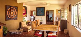 sala de estar del bungalow