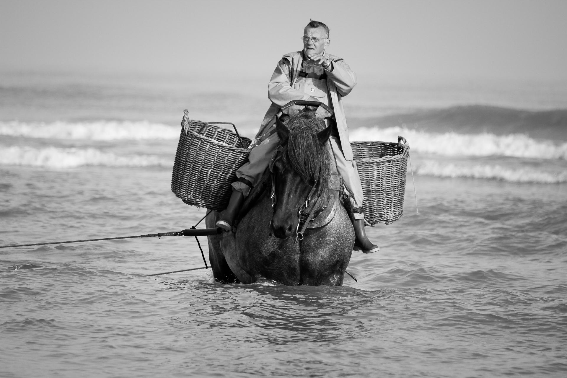 Experienced fisherman