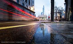 Street shot in London