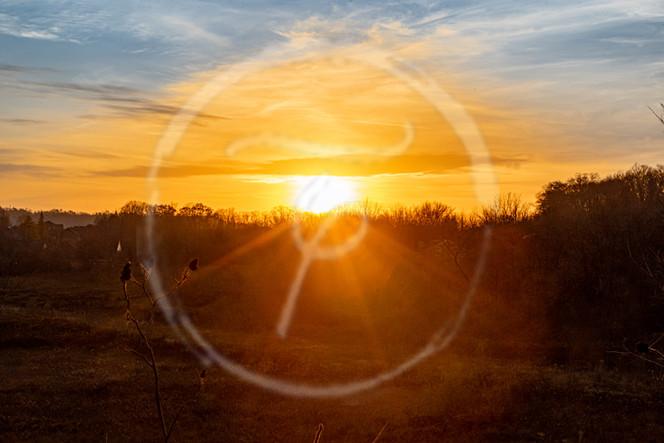 Fairway Sunset