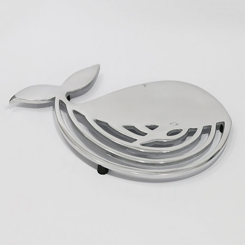 Metal Whale Shaped Trivet