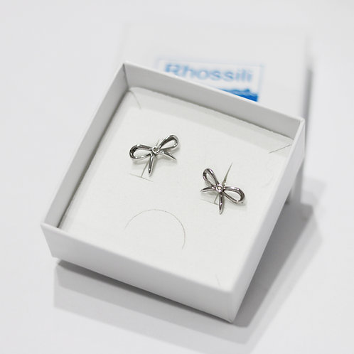 Hot Diamonds Bow Earrings