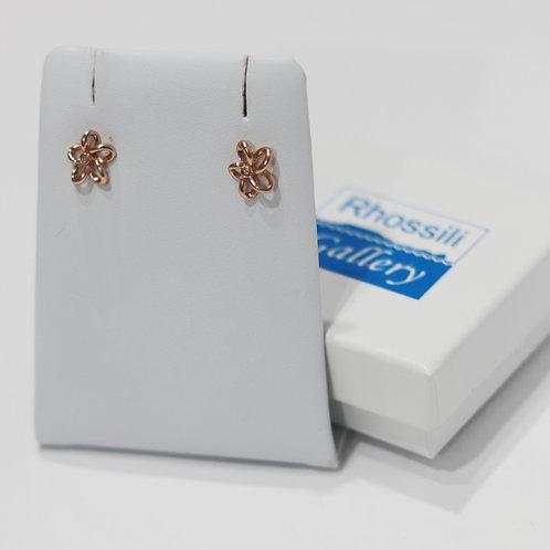Hot Diamonds Flower Earrings