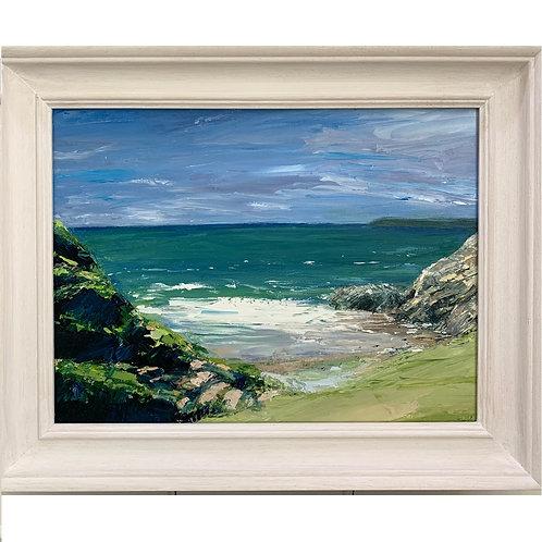 Pobbles Original Framed Oil Painting