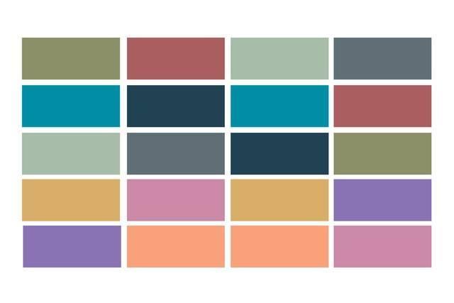 Paleta de colores 1