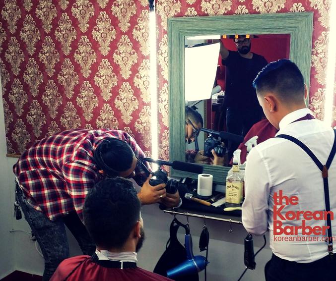 Korean Barber Barbershop Tijuana  Barber