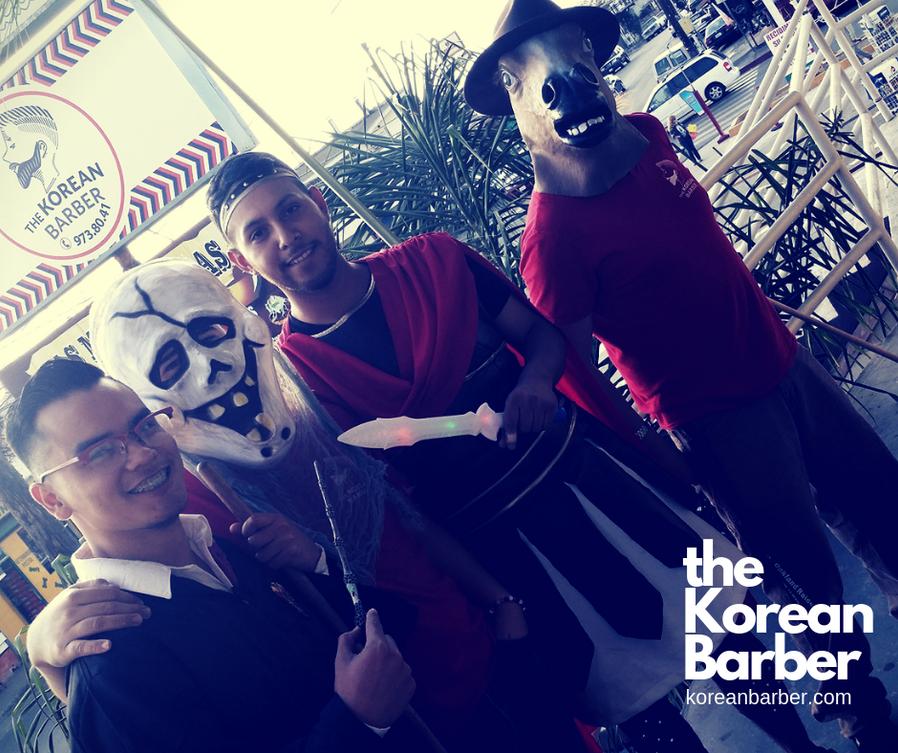 The Korean Barber Barbershop Tijuana  Qu