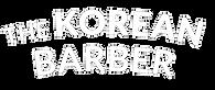The Korean Barber Transparente Blanco y