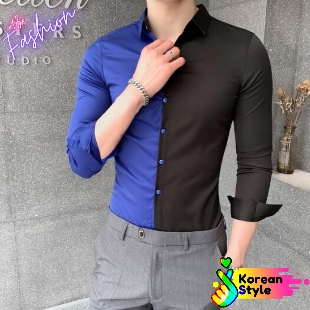 Ropa Coreana en Mexico Camisa Shirt for Men Korean Style  (5)