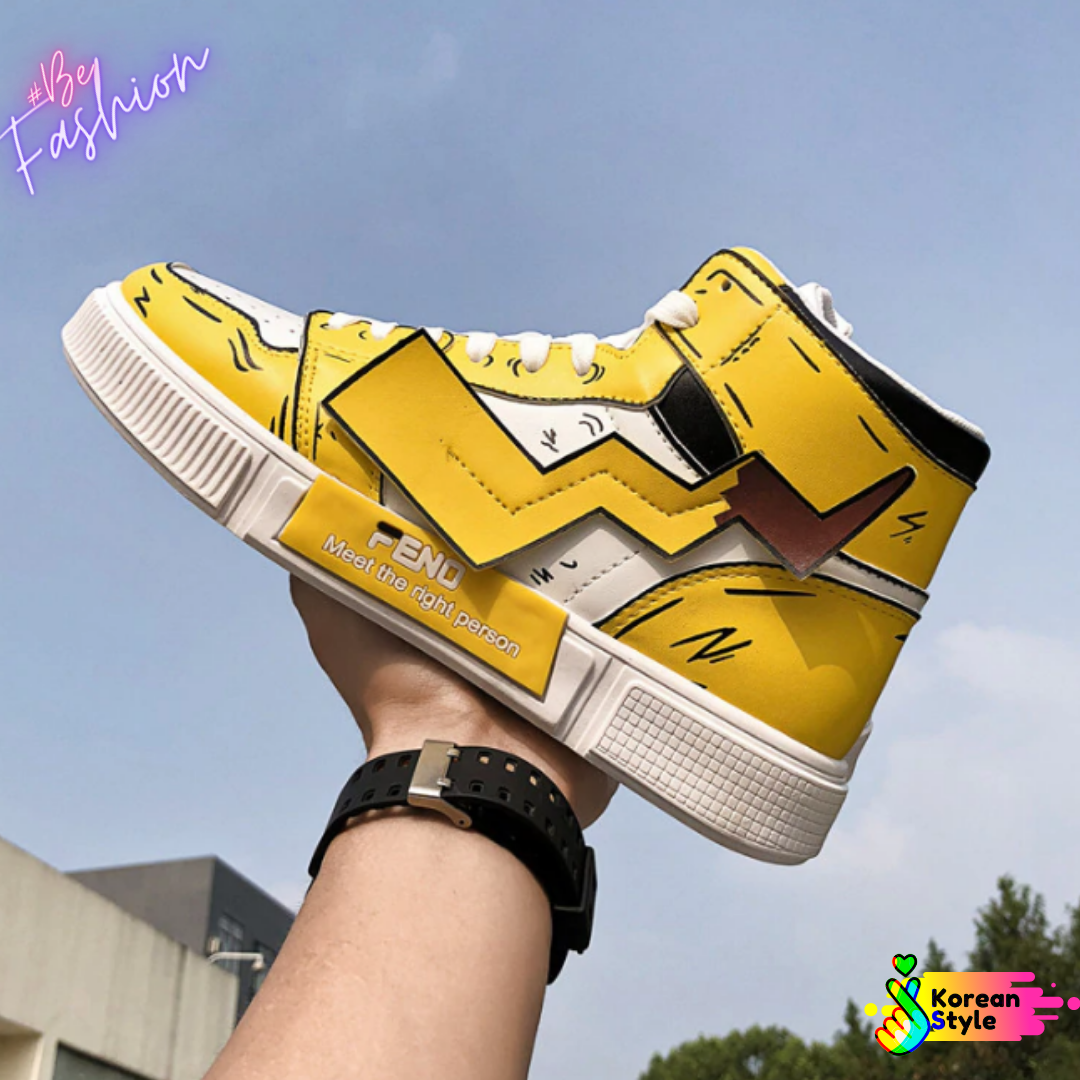 Shoes Pokemon Men Korean Style Ropa Coreana Mexico