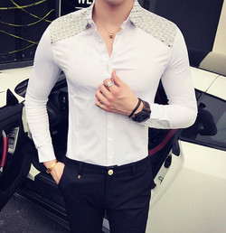 Camisa White Korean Style Mexico