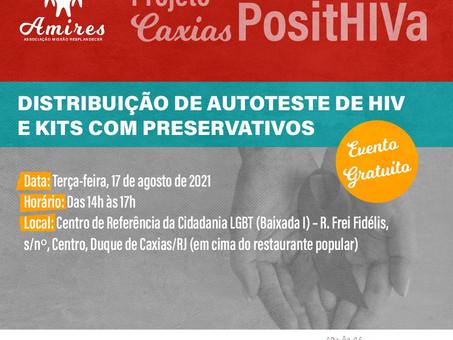 Projeto incentiva testagem de HIV em Duque de Caxias