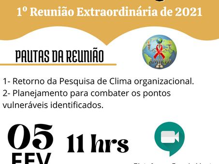 1º Reunião Extraordinária de 2021