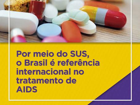 COM DEMOCRACIA E BOM GOVERNO DETIVEMOS A AIDS!