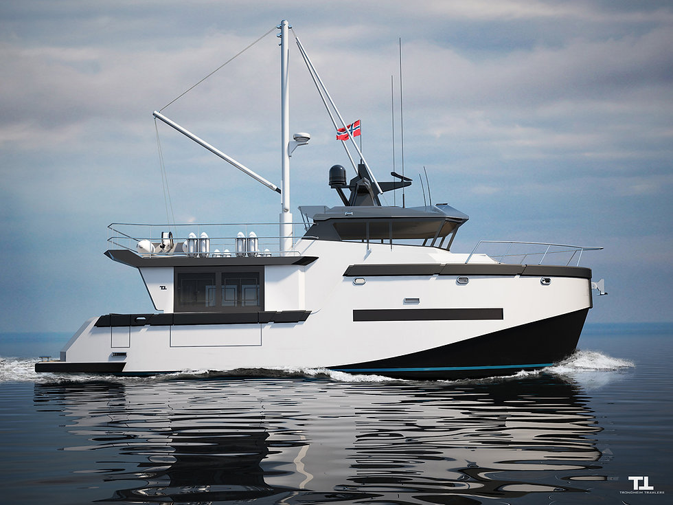 Trondheim trawler 43 ft image