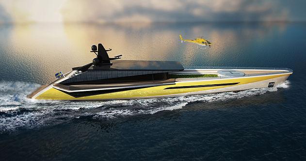 Yacht concept Sun Catcher