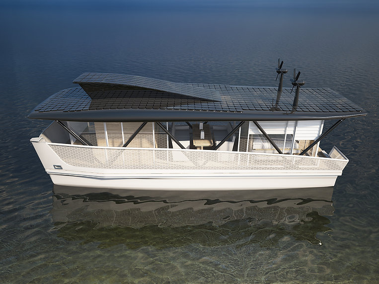 Houseboat project FPH 12 m