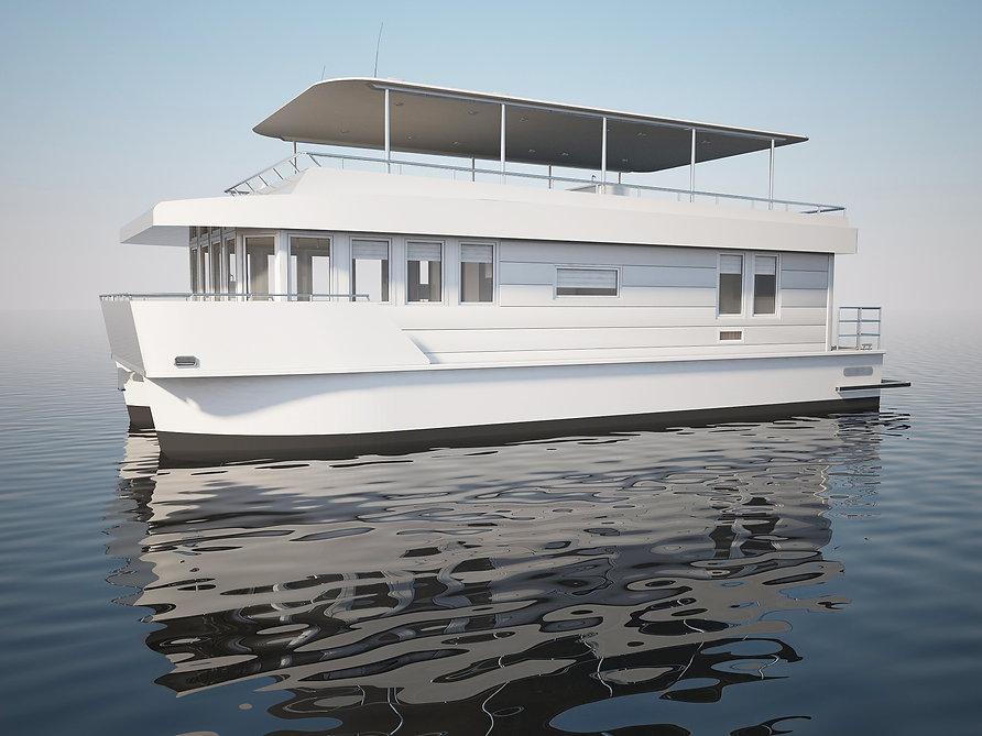 Houseboat Baikal 15 HC model