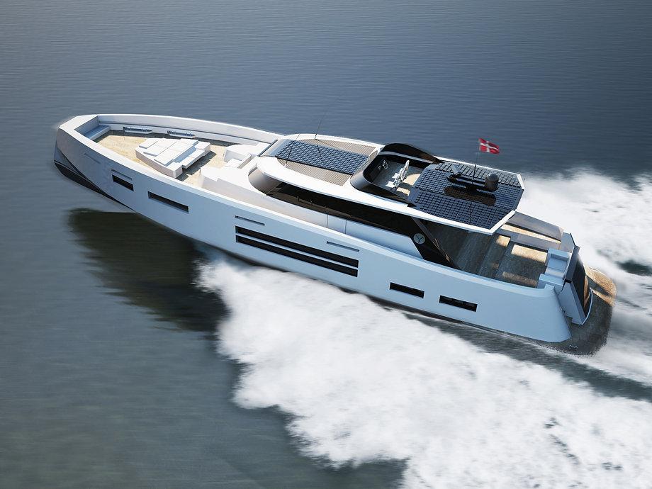 Concept yacht Y-01