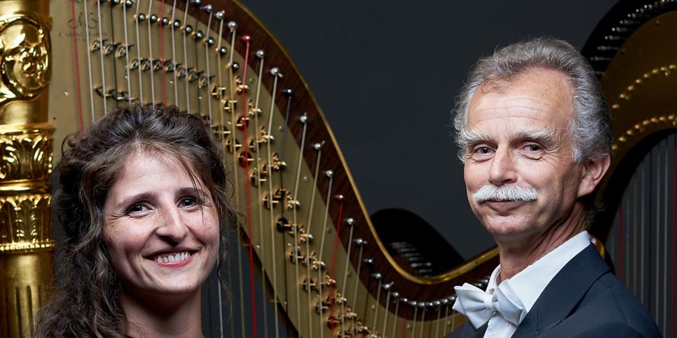 nuit klassik / harpes en duo & pierre michel vigneau