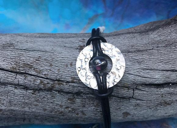 Bead & Sterling Bracelet #1