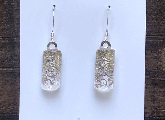 Dichroic Earring #13