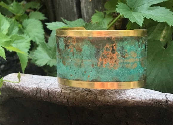 Copper Patina Cuff #6