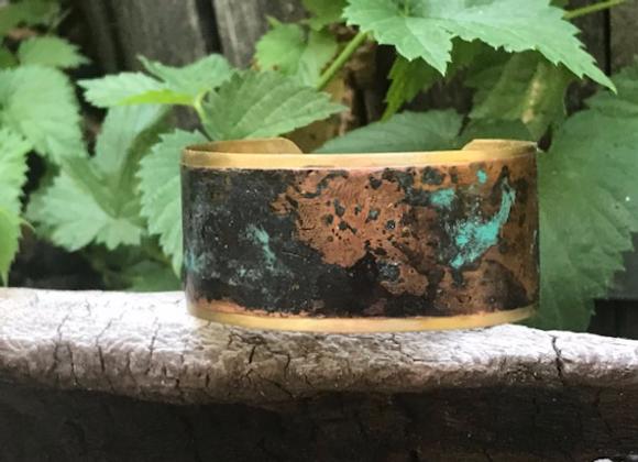 Copper Patina Cuff #9