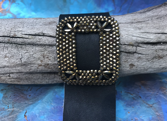 Antique French Shoe Buckle Cuff #3