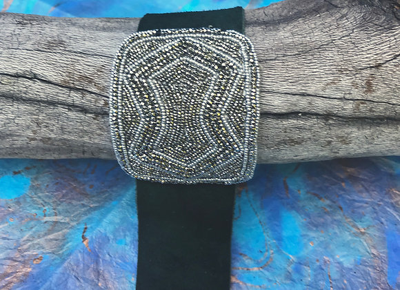 Antique French Shoe Buckle Cuff #1