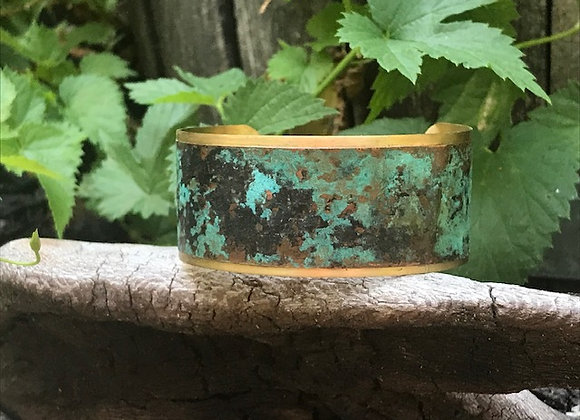 Copper Patina Cuff #5