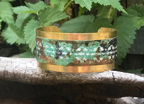 Copper Patina Cuff #8