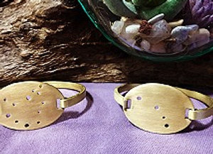 Zodiac Constellation Brass Cuff