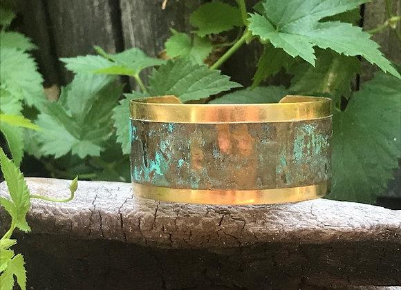 Copper Patina Cuff #2