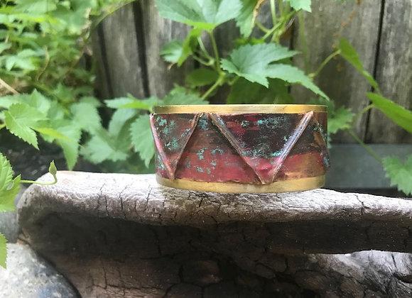 Copper Patina Cuff #12