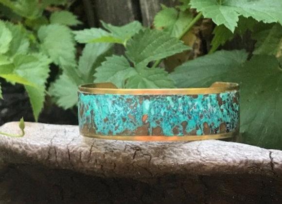 Copper Patina Cuff #4