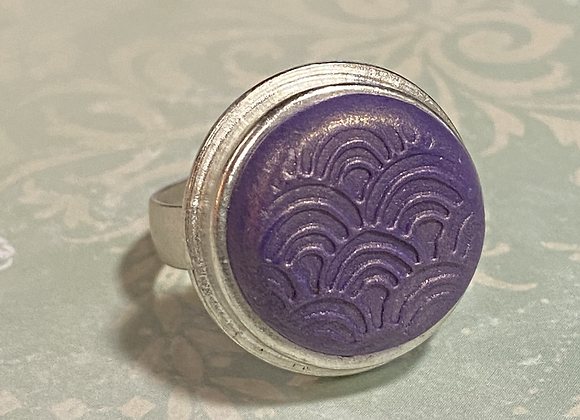Embossed Purple Ring
