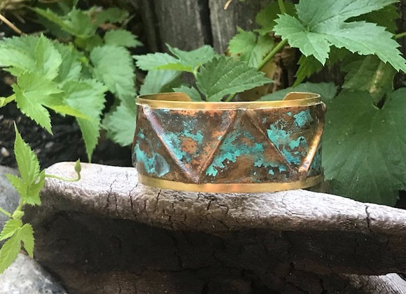Copper Patina Cuff #3