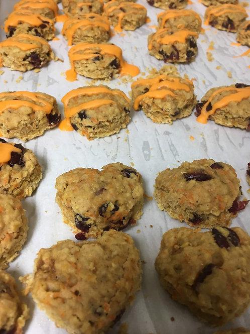 Mini Carrot Cake Cookies