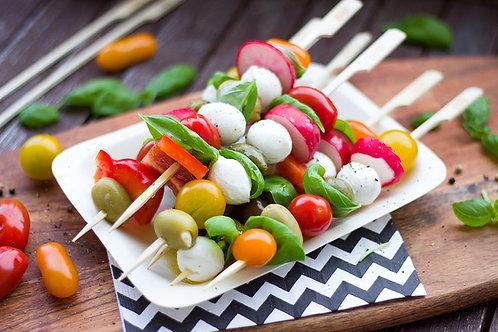Chefs Salad Skewers