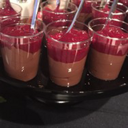 Mini Chocolate Mousse Shooters