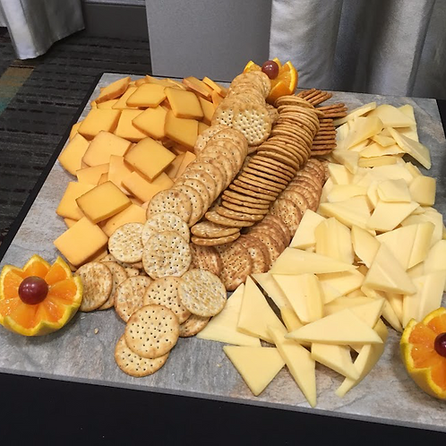 Cheese Platter W/ Crackers