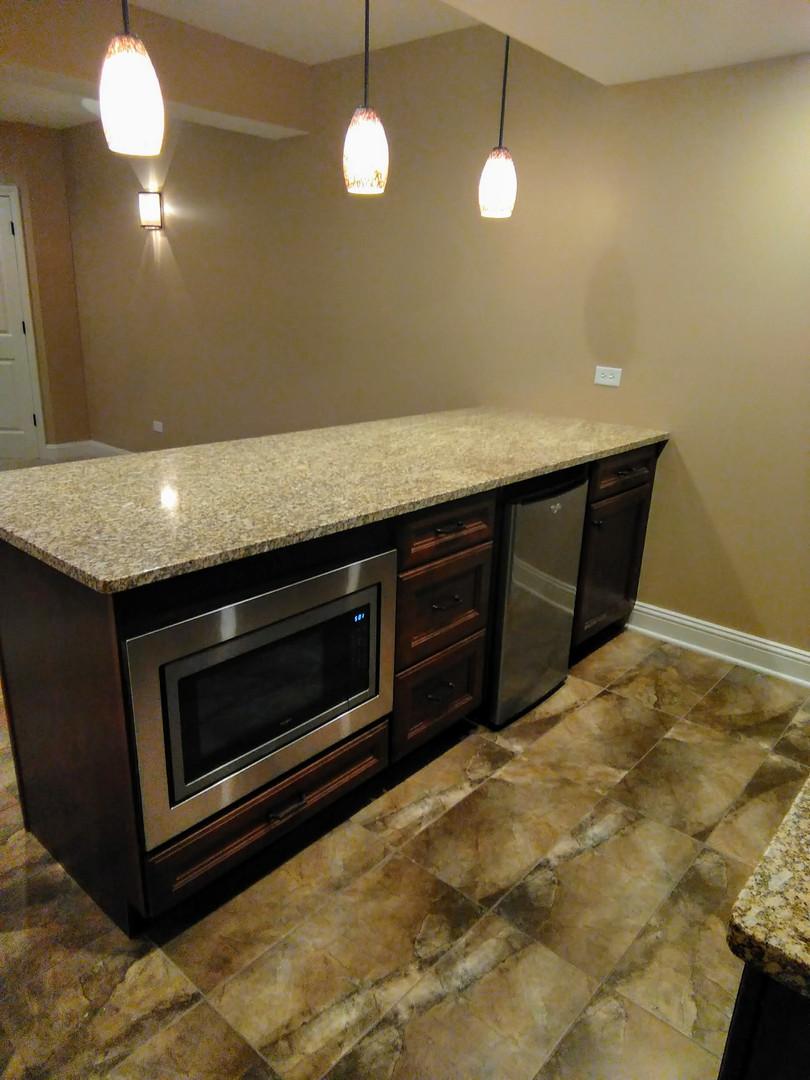 Luxurious Lower Level Kitchen