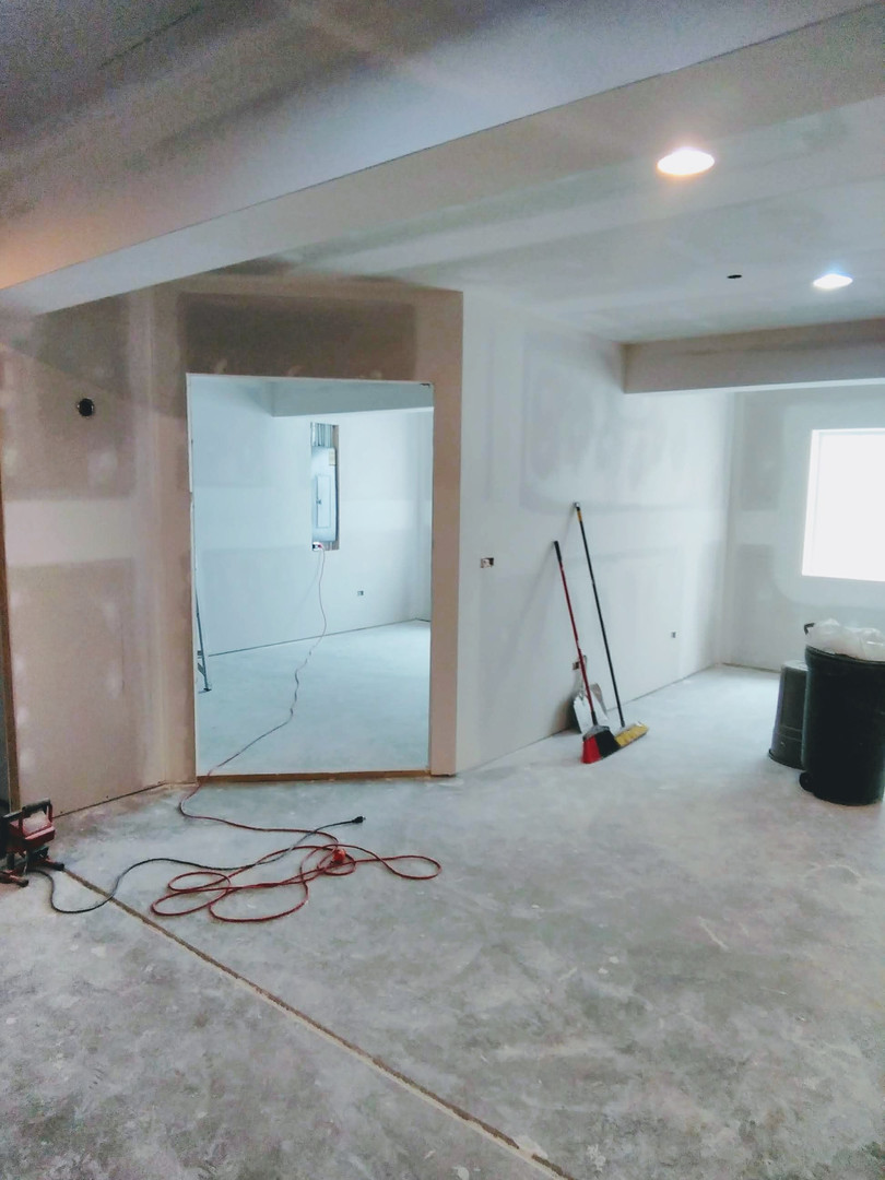 Drywalling a Finished Basement