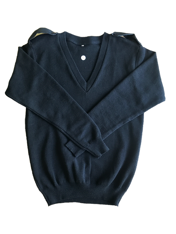 Black Long Sleeve + Epaulettes